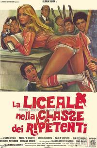 La Liceale nella classe dei ripetenti - 27 x 40 Movie Poster - Italian Style A