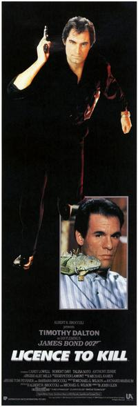 Licence to Kill - 11 x 17 Movie Poster - Style E