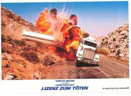 Licence to Kill - 11 x 14 Poster German Style B