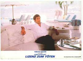Licence to Kill - 11 x 14 Poster German Style E