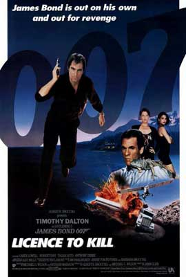 Licence to Kill - 27 x 40 Movie Poster - Style B