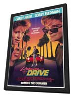 License to Drive - 27 x 40 Movie Poster - Style A - in Deluxe Wood Frame