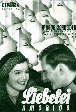 Liebelei - 11 x 17 Movie Poster - Spanish Style A