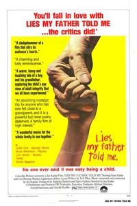 Lies My Father Told Me - 27 x 40 Movie Poster - Style B