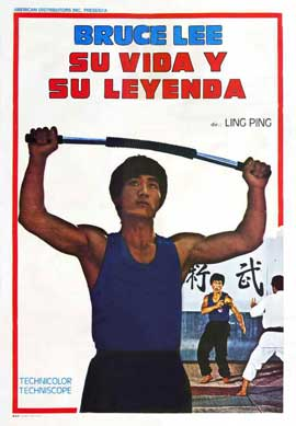 Life and Legend of Bruce Lee - 11 x 17 Movie Poster - Style A