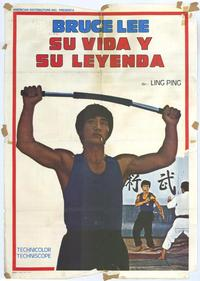 Life and Legend of Bruce Lee - 27 x 40 Movie Poster - Style A