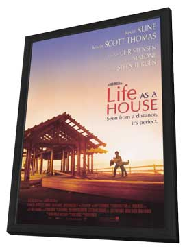 Life as a House - 11 x 17 Movie Poster - Style B - in Deluxe Wood Frame