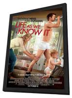 Life as We Know It - 11 x 17 Movie Poster - Style A - in Deluxe Wood Frame