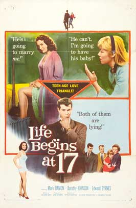 Life Begins at 17 - 27 x 40 Movie Poster - Style A