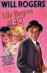 Life Begins at Forty - 11 x 17 Movie Poster - Style A