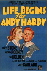 Life Begins for Andy Hardy - 11 x 17 Movie Poster - Style B