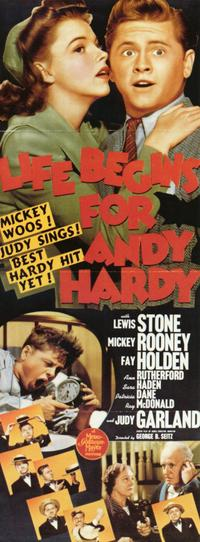 Life Begins for Andy Hardy - 11 x 17 Movie Poster - Style C