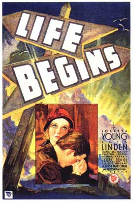 Life Begins - 11 x 17 Movie Poster - Style A