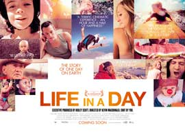Life in a Day - 11 x 17 Movie Poster - UK Style A