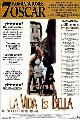 Life Is Beautiful - 27 x 40 Movie Poster - Spanish Style A