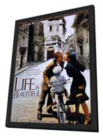 Life Is Beautiful - 11 x 17 Movie Poster - Style A - in Deluxe Wood Frame