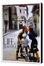 Life Is Beautiful - 27 x 40 Movie Poster - Style A - Museum Wrapped Canvas