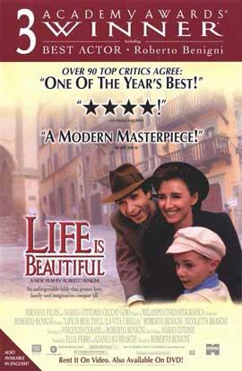 Life Is Beautiful - 11 x 17 Movie Poster - Style C
