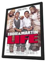 Life - 27 x 40 Movie Poster - Style A - in Deluxe Wood Frame