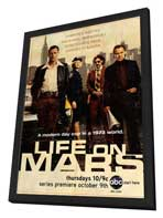 Life On Mars (TV) (US) - 11 x 17 TV Poster - Style A - in Deluxe Wood Frame