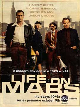 Life On Mars (TV) (US) - 11 x 17 TV Poster - Style A