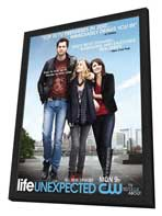 Life Unexpected - 11 x 17 Movie Poster - Style B - in Deluxe Wood Frame
