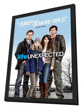 Life Unexpected - 27 x 40 Movie Poster - Style A - in Deluxe Wood Frame