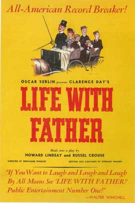 Life With Father (Broadway) - 14 x 22 Poster - Style A