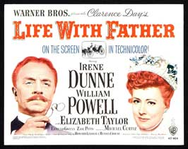 Life with Father - 22 x 28 Movie Poster - Half Sheet Style A