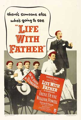 Life with Father - 27 x 40 Movie Poster - Style C
