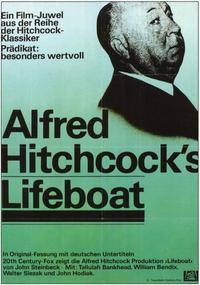 Lifeboat - 11 x 17 Movie Poster - German Style A