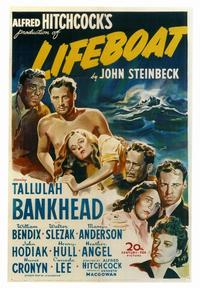 Lifeboat - 43 x 62 Movie Poster - Bus Shelter Style A