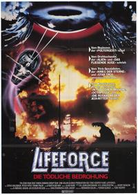 Lifeforce - 11 x 17 Movie Poster - German Style A