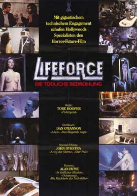 Lifeforce - 11 x 17 Movie Poster - German Style B