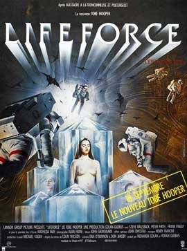 Lifeforce - 27 x 40 Movie Poster - French Style A