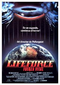 Lifeforce - 27 x 40 Movie Poster - Spanish Style A