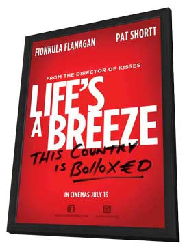 Life's a Breeze - 11 x 17 Movie Poster - Style A - in Deluxe Wood Frame