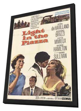 Light in the Piazza - 11 x 17 Movie Poster - Style A - in Deluxe Wood Frame