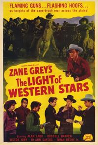 The Light of Western Stars - 27 x 40 Movie Poster - Style A