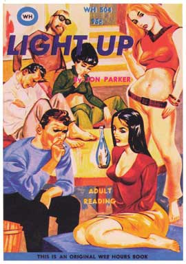 Light Up - 11 x 17 Retro Book Cover Poster
