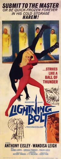 Lightning Bolt - 14 x 36 Movie Poster - Insert Style A