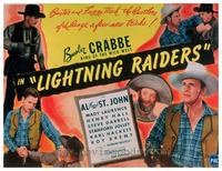 Lightning Raiders - 11 x 14 Movie Poster - Style A