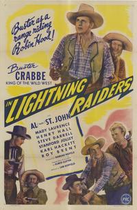 Lightning Raiders - 27 x 40 Movie Poster - Style A