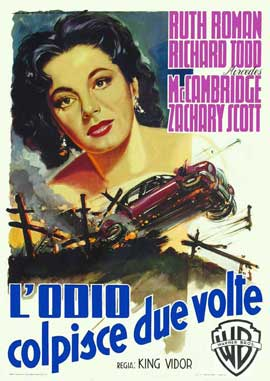Lightning Strikes Twice - 11 x 17 Movie Poster - Italian Style A