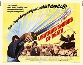 Lightning Swords of Death - 22 x 28 Movie Poster - Half Sheet Style A