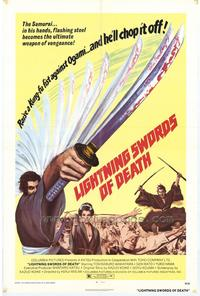 Lightning Swords of Death - 27 x 40 Movie Poster - Style A