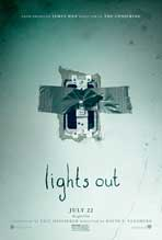 """Lights Out"" Movie Poster"