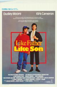 Like Father Like Son - 11 x 17 Movie Poster - Belgian Style A