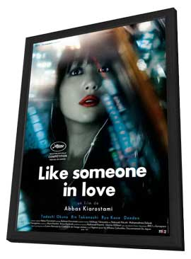Like Someone in Love - 27 x 40 Movie Poster - French Style A - in Deluxe Wood Frame