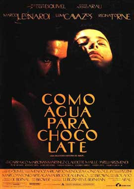 Like Water for Chocolate - 11 x 17 Movie Poster - Spanish Style A